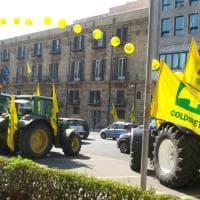 """La guerra del grano, trattori in centro a Palermo: """"Siamo il granaio d'Italia, stop ai..."""