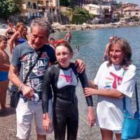 Messina: la traversata dello Stretto di Margherita, la ragazza con il corpo da bambina