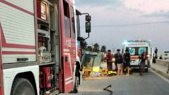 Incidente a Mazara, muore un giovane schiacciato da una gru