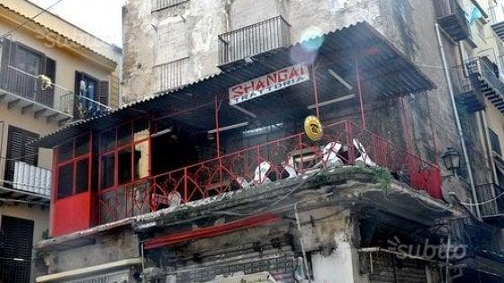 Palermo, in vendita la storica trattoria Shangai nel cuore della Vucciria