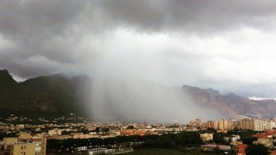 Nuovo temporale su Palermo, disagi e allagamenti in città e in provincia