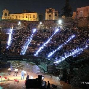 Catania: gli attori dello Stabile in scena al teatro greco - romano
