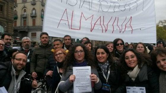 """Vertenza Almaviva: """"Perdite per tre milioni di euro, impiegati palermitani a rischio trasferimento"""""""