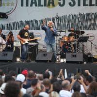 Italia 5 stelle a Palermo, Grillo sul palco: