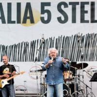"""Italia 5 stelle, Grillo a Palermo: """"No passi di lato, io capo politico a tempo pieno. Ora..."""
