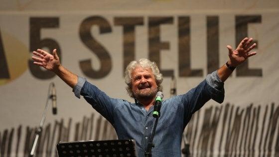 """Palermo, chiude la festa M5s. Grillo si riprende il Movimento e nasce il """"tridente"""" Casaleggio-Di Battista-Di Maio"""