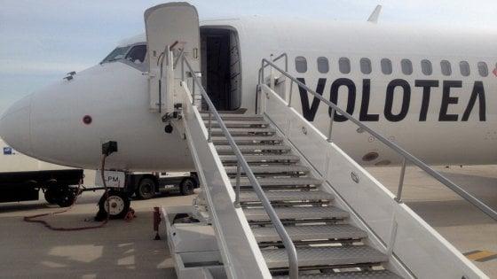Volotea: da Palermo nuove rotte per Malaga e Corfù