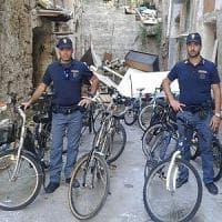 Scoperto deposito di bici rubate, un arresto a Palermo