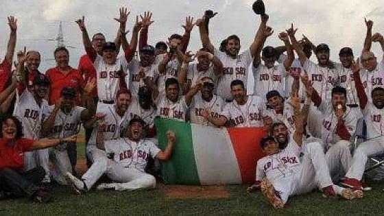 Paternò capitale del baseball: i Red Sox campioni d'Italia