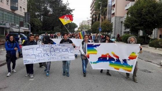 Alla marcia Perugia-Assisi anche 25 studenti dell'Ascione di Palermo