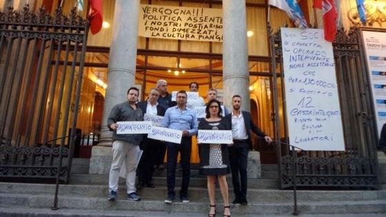 """Alajmo: """"Mille abbonati in più per salvare i dipendenti del Biondo"""""""