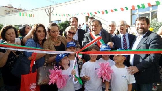 Palermo: dopo 20 anni di lavori inaugurata la scuola Cavallari