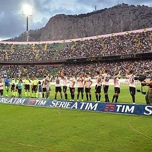 Palermo in festa per le 1.000 partite in serie A