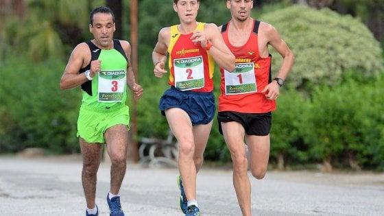 Mezzamaratona di Palermo, la spunta il marocchino Hamad Bibi