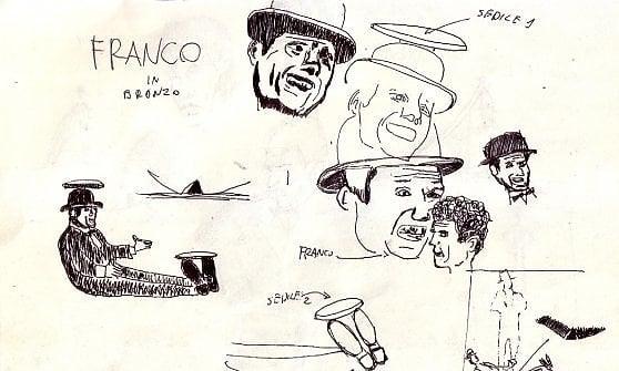 Raccolta fondi per un monumento a Franco e Ciccio