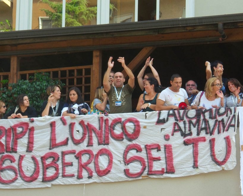 Almaviva, sale la tensione: assemblea in via Marcellini a Palermo