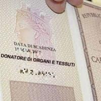 Palermo, da martedì assenso per la donazione sulla carta d'identità