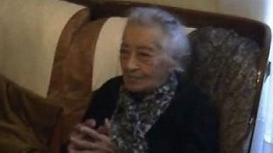 Agrigento, la maestra più anziana d'Italia riceve onorificenza dalla ministra Giannini