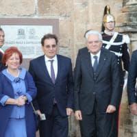 Mattarella a Palermo apre la tre giorni di festa per l'Unesco