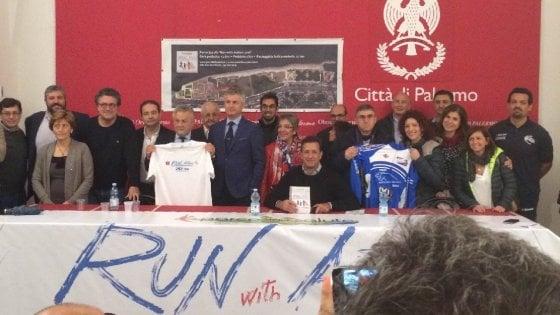 Solidarietà: corsa e corteo in bici a Palermo per i bambini autistici