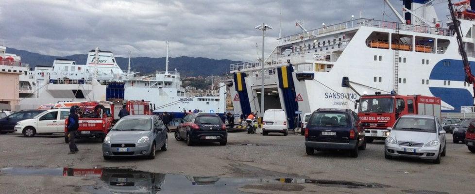 Tragedia a Messina, quattro operai morti nella cisterna di un traghetto$