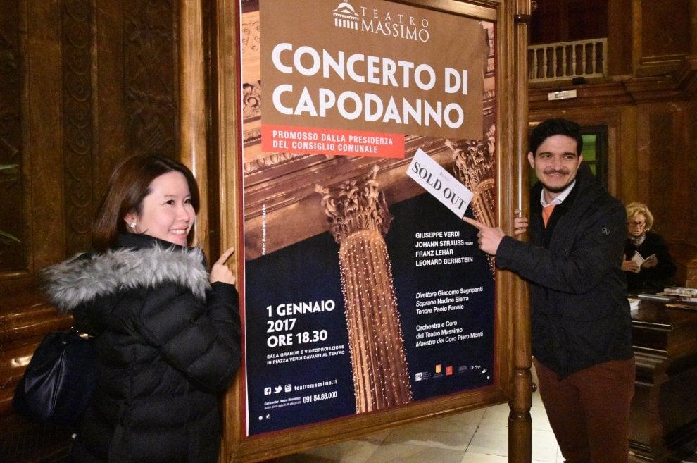 Il concerto di Capodanno al Teatro Massimo