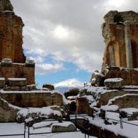 Il Teatro di Taormina parzialmente