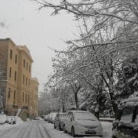 Riecco il maltempo, disagi per la neve: caos sull'autostrada Palermo-Catania