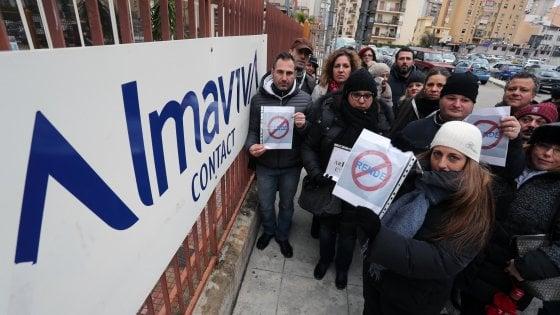 Almaviva: accordo raggiunto, stop ai trasferimenti da Palermo a Rende