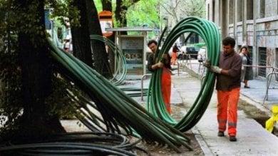 Palermo: arriva la fibra ottica superveloce Open Fiber inizia il cablaggio