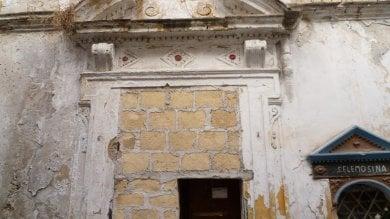Albergheria, rischio di crolli sigilli alla Chiesa dell'Annunziata