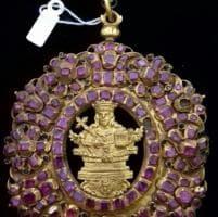 Oro e 132 rubini, il medaglione trapanese di Sant'Agata in mostra a Catania
