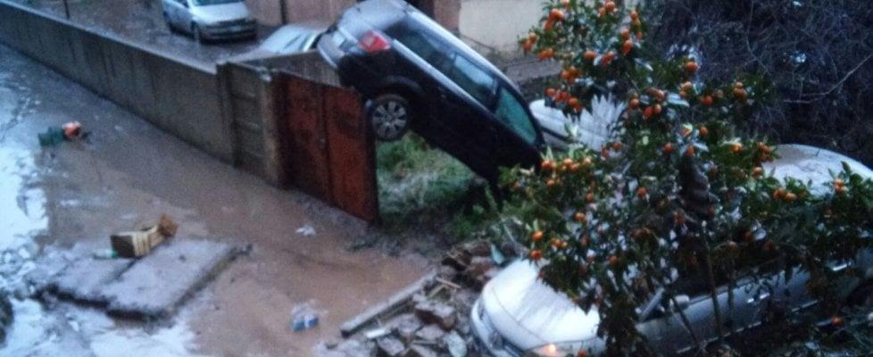 """Esonda torrente nel Palermitano: auto travolta, un morto. Crocetta: """"Convocato un tavolo permanente sull'emergenza"""""""