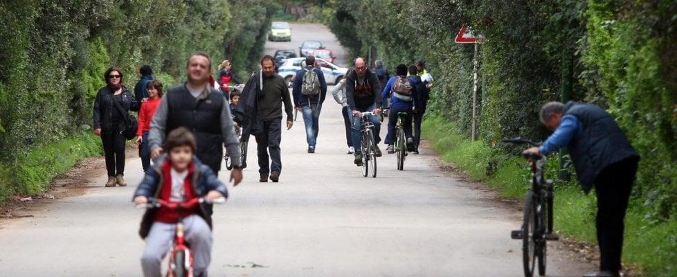 Palermo: rinasce la Favorita, tra sport e giochi sì alle domeniche con i viali senza le auto