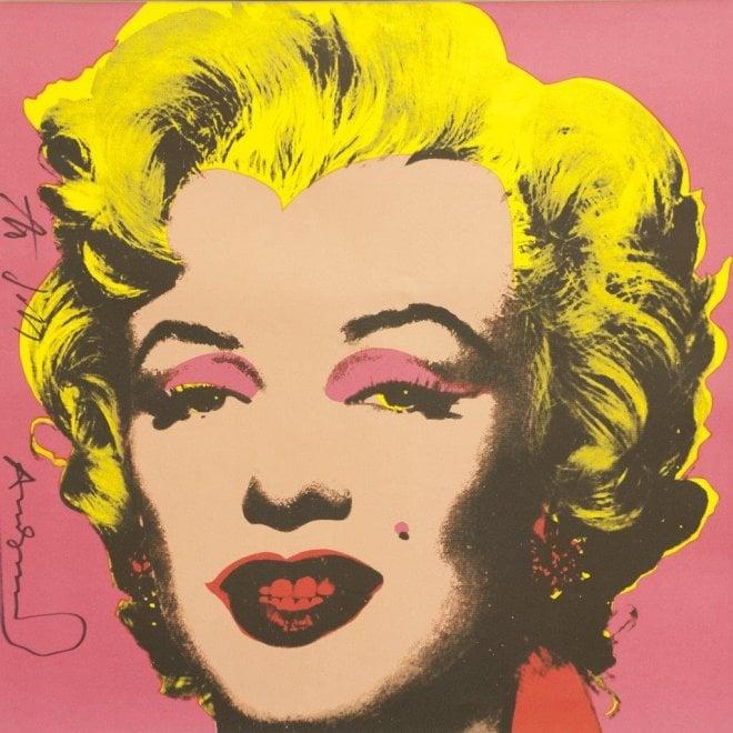 Andy Warhol a Catania, opere e oggetti da collezione