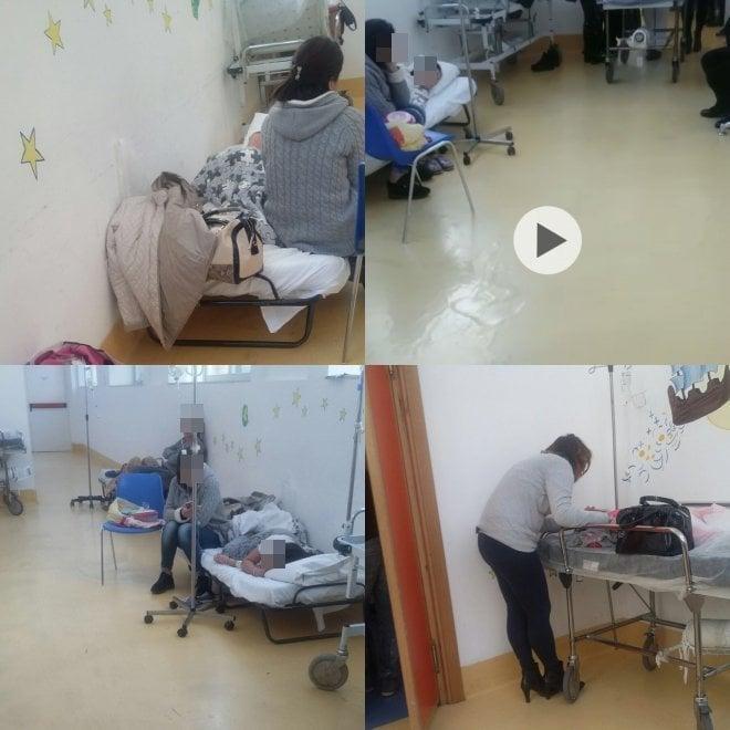 Palermo. Ospedale dei bambini, ricoveri in corridoio