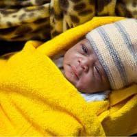 Mercy, la figlia di migranti nata in mezzo al Mediterraneo
