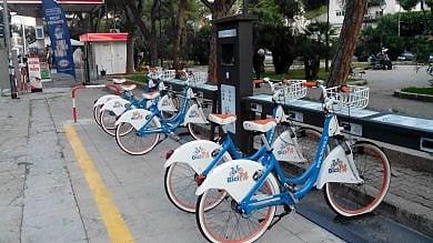Bike sharing gratis la prima mezzora servizio attivo fino alle ore 24