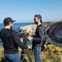 Il dj Feder a Terrasini per girare il videoclip