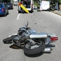 Catania: moto contro auto, muore il centauro