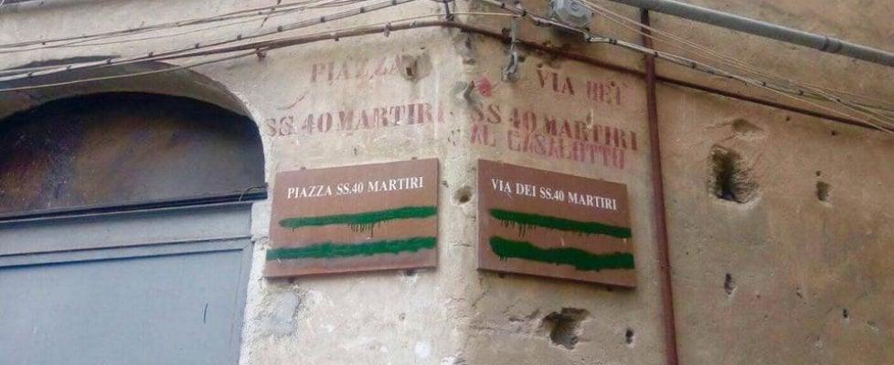 Palermo: cancellate a Ballarò le indicazioni stradali in arabo e in ebraico