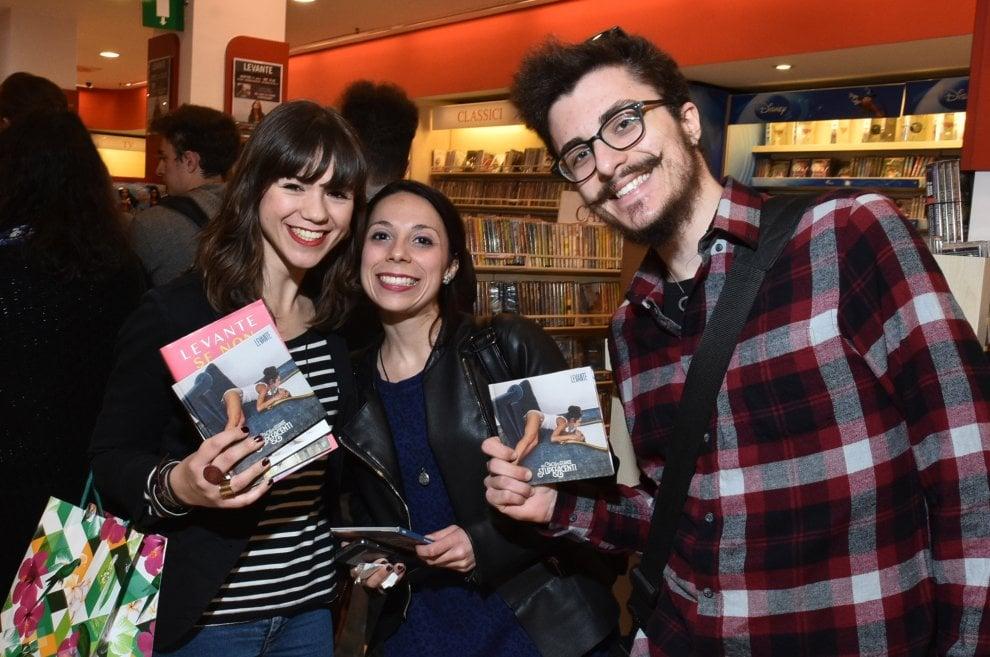 Levante alla Mondadori, incontro con i fan