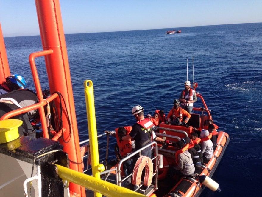 Duemila migranti soccorsi nel Mediterraneo