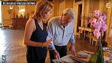 """Il ritorno di Alain Delon  sul set del """"Gattopardo"""""""