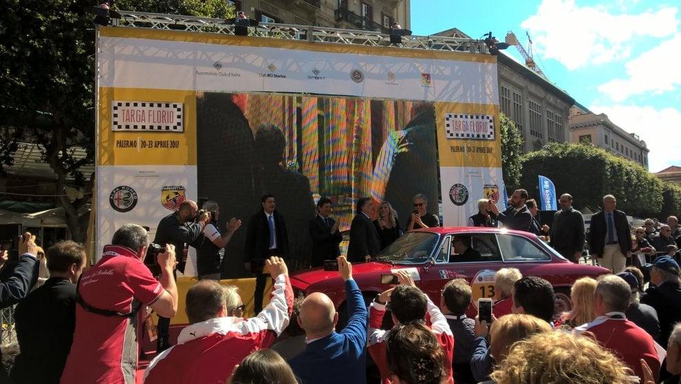 Palermo: al Massimo la partenza della Targa Florio numero 101