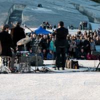 Jazz: Roy Paci suona al Cretto di Burri di Gibellina