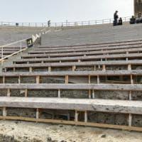 Siracusa: svelata la protezione hi tech per la cavea del Teatro greco