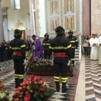 Messina: i funerali di Mauro Amendolia, il pilota morto alla Targa Florio