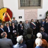 Palermo, commemorati Pio La Torre e l'autista Rosario Di Salvo