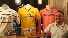 In mostra le maglie delle glorie del calcio